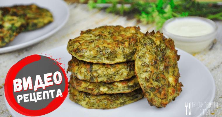 Магданозени кюфтета – видео рецепта